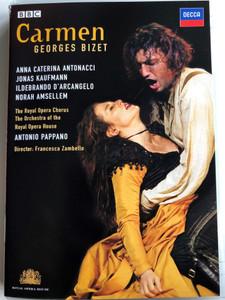 Georges Bizet - Carmen DVD 2007 Royal Opera House / Directed by Jonathan Haswell / Cast: Anna Caterina Antonacci, Jonas Kaufmann, Ildebrando D'arcangelo / BBC - Decca (044007433126)