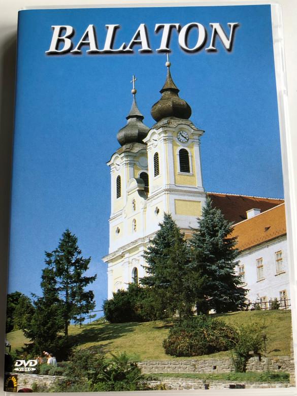 Balaton DVD Hungarian travel movie presenting Lake Balaton and the settlements around it / Balatonvilágos, Siófok, Zamárdi, Balatonföldvár, Keszthely, Szigliget, Badacsony, Tihany, Balatonfüred / Útifilm (599816860123)