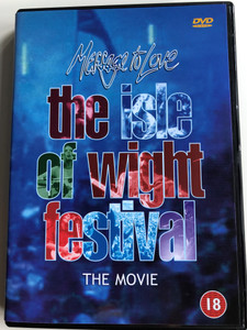 Message to Love / The Isle of Wight Festival The Movie DVD 1995 / Directed by Murray Lerner / Live performances by The Doors, The Who, The Moody Blues, Jimi Hendrix (5038456310010)