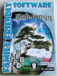 MahJongg - thinking game / Family Friendly Software / PC CD-ROM / Challenging and addictive 3000 year old Chinese game (8716718007102)