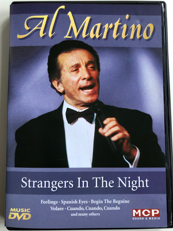 Al Martino - Strangers In the Night DVD / Feelings, Spanish eyes, Lonely is a man without love, Volare, Cuando, Cuando, Cuando (9002986611387)