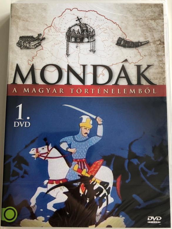 Mondák a magyar történelemből 1. DVD 2011 / Directed by Jankovics Marcell / Legends from Hungarian History animated series / Volume 1 (5999884941002)