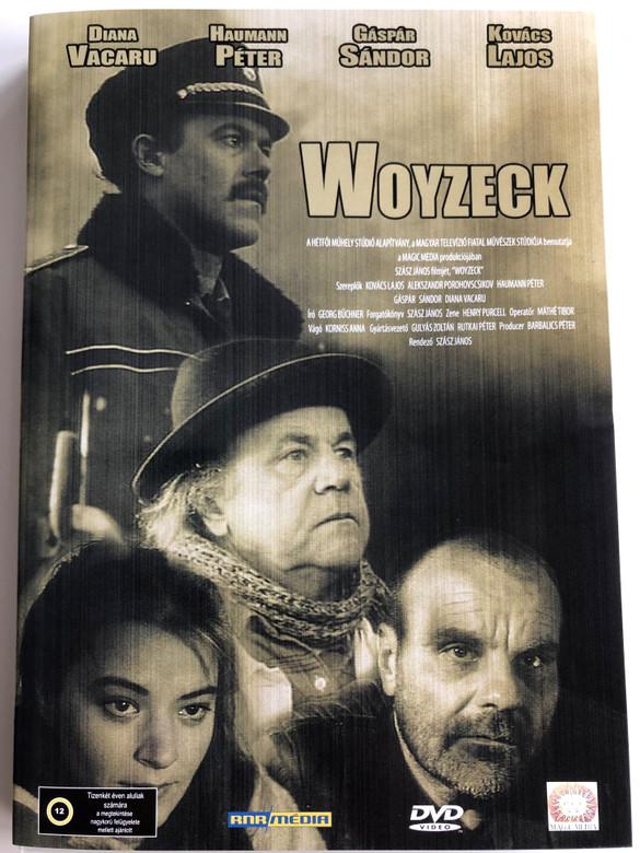 Woyzeck DVD 1994 / Directed by János Szász / Starring: Lajos Kovács, Diana Vacaru, Éva Igó / Hungarian Drama film (5998557171166)