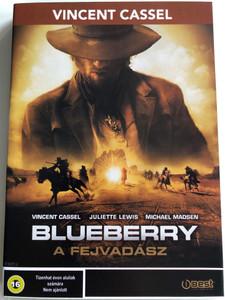 Blueberry DVD 2004 A fejvadász / Directed by Jan Kounen / Starring: Vincent Cassel, Michael Madsen, Eddie Izzard, Geoffrey Lewis (5998133155832)
