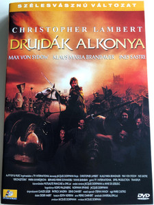 Vercingétorix: La légende du druide roi DVD 2001 A Druidák alkonya (Druids) / Directed by Jacques Dorfman / Starring: Christopher Lambert, Klaus Maria Brandauer, Max Von Sydow, Ines Sastre (5999545560160)