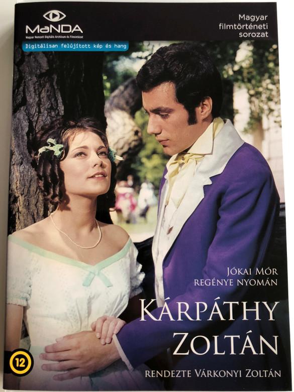 Kárpáthy Zoltán DVD 1966 / Based on Jókai Mór's novel / Directed by Várkonyi Zoltán / Starring: Kovács István, Venczel Vera, Latinovits Zoltán, Ruttkai Éva, Darvas Iván (5999884681373)