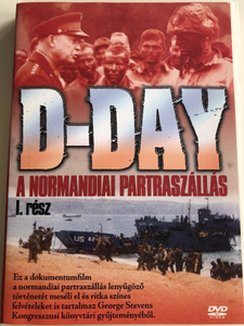 D-Day: Code Name Overlord DVD 1998 A normandiai Partraszállás I. rész / Documentary about D-Day Part 1 / Directed by Lanny Lee (5999543814005)