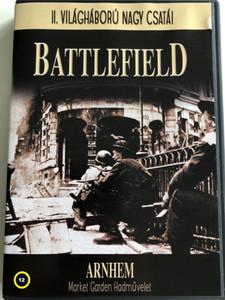 Battlefield: Arnhem Operation Market Garden / Market Garden Hadművelet DVD 2002 / Written by David Manson / Narrated by Jonathan Booth / II. Világháború nagy csatái (5999883277027