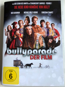 Bullyparade - Der Film DVD 2017 / Directed by Michael Herbig / Starring: Michael Herbig, Christian Tramitz, Rick Kavanian, Sky du Mont (5051890310606)