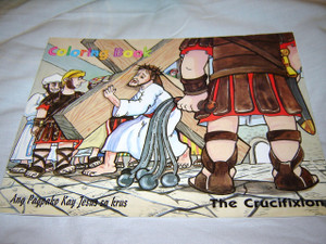 The Crucifixion / Ang Pagpako Kay Jesus sa krus / Children's Bible Coloring Book