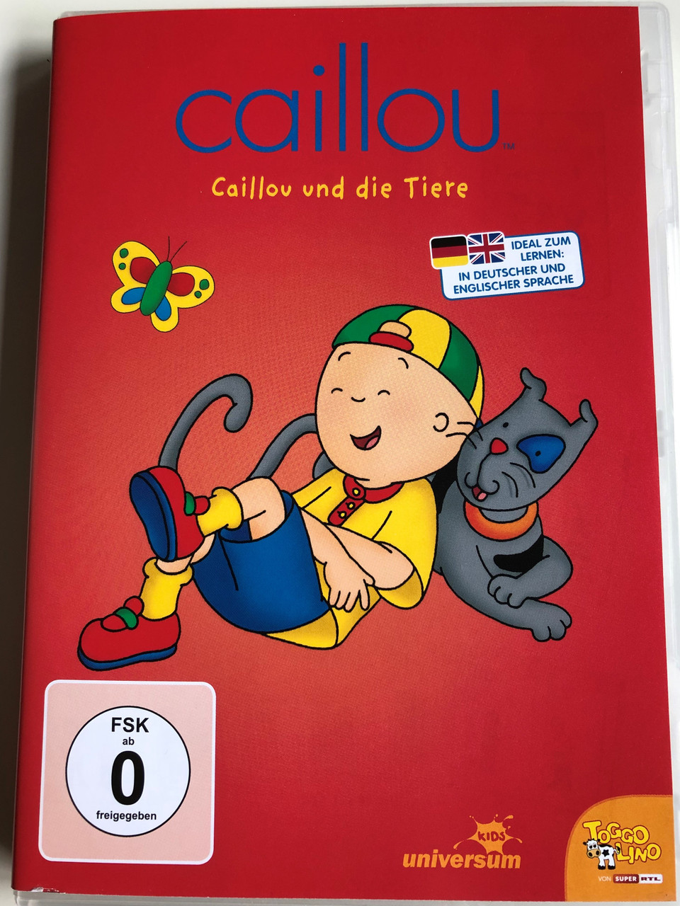 Caillou DVD 2000 Caillou und die Tiere / Directed by Jean ... Caillou Family Collection 9 13