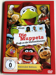 A muppets christmas: Letters to Santa DVD 2008 Die Muppets - Briefe an den Weihnachtsmann / Directed by Kirk R. Thatcher / Muppet voices> Steve Whitmire, Dave Goelz, Bill Barretta, Eric Jacobson / Cameo: Whoopi Goldberg, Richard Griffiths, Uma Thurman / Extended edition DVD (8717418447199)