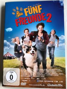 Fünf Freunde 2 DVD 2013 Famous Five 2 / Directed by Mike Marzuk / Starring: Valeria Eisenbart, Quirin Oettl, Justus Schlingensiepen, Neele-Marie Nickel, Coffey (4011976884880)