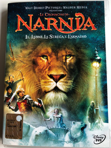 The Chronicles of Narnia: The Lion, The Witch and the Wardrobe DVD 2005 Le Cronache Di Narnia: Il Leone, La Strega E L'armadio / Directed by Andrew Adamson / Starring: William Moseley, Anna Popplewell, Skandar Keynes, Georgie Henley, Tilda Swinton (8717418051174)
