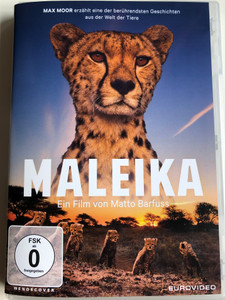 Maleika DVD 2017 / Directed by Matto Barfuss / German language documentary film about cheetahs / Filmed in the Masai Mara natural reserve (4009750233634)