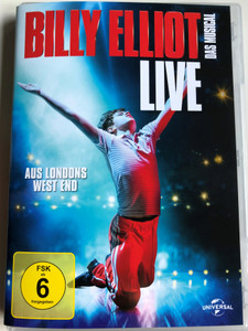 Billy Elliot The Musical Live DVD 2014 Das Musical Aus Londons West End / Directed by Brett Sulivan / Music by Elton John / Lyrics by Lee Hall (5053083018870)