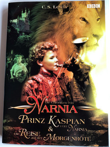 The Chronicles of Narnia: Prince Caspian, The Voyage of the Dawn Treader DVD 2010 Die Chroniken von Narnia: Prinz Kaspian, Die Reise auf der Morgenröte / Directed by Andrew Adamson, Michael Apted / Starring: William Moseley, Anna Popplewell, Skandar Keynes, Georgie Henley (886973724293)