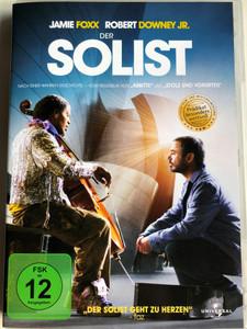 The Soloist DVD 2009 Der Solist / Directed by Joe Wright / Starring: Jamie Foxx, Robert Downey Jr. Catherine Keener (5050582761658)