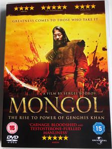 Mongol - The Rise to Power of Genghis Khan DVD 2007 Монгол / Directed by Sergei Bodrov / Starring: Tadanobu Asano, Sun Honglei, Chuluuny Khulan, Amadu Mamadakov (5050582568332)