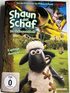 Shaun the sheep DVD 2010 Shaun das Schaf - Die Schlammschlacht / Created by Nick Park / Directed by Richard Goleszowski, Christopher Sadler / Stop motion animated series / 8 episodes on DVD (4010324027788)