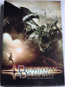 Dungeons & Dragons: Wrath of the Dragon God DVD 2005 Die Macht Der Elemente / Directed by Gerry Lively / Starring: Mark Dymond, Clemency Burton-Hill, Bruce Payne, Ellie Chidzey (4013575524594)