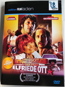 Die unabsichtliche Entführung der Frau Elfriede Ott DVD 2010 The Unintentional Kidnapping of Mrs. Elfriede Ott / Directed by Amdreas Prochaska / Starring: Michael Ostrowski, Elfriede Ott, Andreas Kiendl (9120026070502)