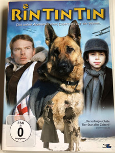 Finding Rin Tin Tin DVD 2007 Rin Tin Tin Das wahre Abenteuer eines Superstars auf vier Pfoten / Directed by Danny Lerner / Starring: Tyler Jensen, Ben Cross, Gregory Gudgeon, Steve O'Donnell, William Hope (4049834002978)