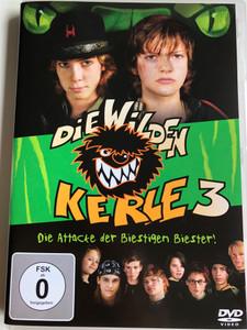 Die Wilden Kerle 3 DVD 2003 Die Attacke der Biestigen biester! / The Wild Soccer Bunch 3 / Directed by Joachim Masannek / Starring: Jimi Blue Ochsenknecht, Sarah Kim Gries, Constantin Gastmann, Wilson González Ochsenknecht (8717418087272)