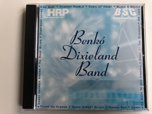 Benkó Dixieland Hungary Band ‎– Me Baby, Muskrat Ramble, Sheik of Araby, Black & Bkue, Flying On Sledge, Basin Street Blues, Panama Rag / Bencolor ‎Audio CD 1995 Stereo / BEN-CD 5401