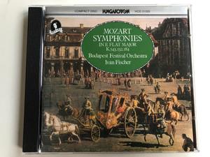 Mozart – Symphonies In E Flat Major K543.132.184 / Budapest Festival Orchestra, Ivan Fischer / Hungaroton Audio CD 1991 Stereo / HCD 31093