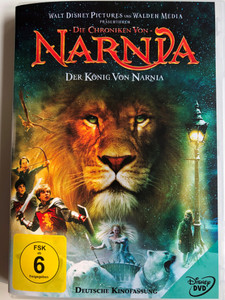 The Chronicles of Narnia: The Lion, The Witch and the Wardrobe DVD 2005 Die Chroniken Von Narnia - Der König Von Narnia / Directed by Andrew Adamson / Starring: William Moseley, Anna Popplewell, Skandar Keynes, Georgie Henley, Tilda Swinton (8717418083861)