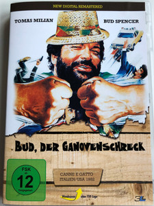 Bud, der Ganovenschreck DVD 1982 Cane e gatto AKA Cat and Dog / Directed by Bruno Corbucci / Starring: Bud Spencer, Tomas Milian (4049834002459)