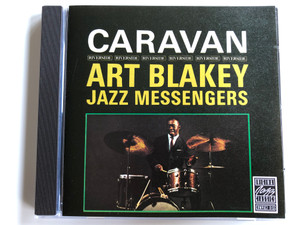Caravan - Art Blakey, The Jazz Messengers ‎/ Original Jazz Classics ‎Audio CD 1987 Stereo / OJCCD-038-2