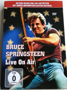 Bruce Springsteen Live On Air DVD 2005 Seltene Bilder von Live-Auftritten / A selection of the best live recordings from film and television archives, including the legendary appearance on the 'Saturday Night Live' / AML2040 (823880036088)
