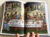 Biblia istorisită pentru copii / Bible stories for Children / Romanian Orthodox Children's Bible / Hardcover 2013 / Orthodox - style illustrations by Martha Xynopoulou-Kapetanakou / Societăţii Biblice Interconfesionale din România (9786068279183)