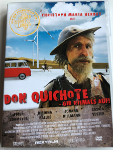 Don Quichote - Gib Niemals Auf! DVD 2008 / Directed by Sibylle Tafel / Starring: Johann Hillmann, Christoph Maria Herbst, Peter Lohmeyer (4009750244463)