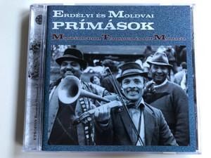 Erdelyi es Moldvai Primasok / Musicians from Transilvania and Moldavia / Etnofon Audio CD 2001 / ED-CD 019