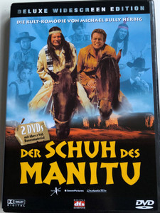 Der Schuh des Manitu DVD 2001 / Manitou's Shoe / German Western Parody / Directed by Michael Herbig / Starring: Michael Herbig, Christian Tramitz, Rick Kavanian ,Sky du Mont, Marie Bäumer, Hilmi Sözer (743218945991)