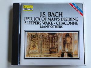 J.S. Bach – Jesu, Joy Of Man's Desiring, Sleepers Wake, Chaconne, Many Others / Intersound Audio CD 1990 / CDQ 2018