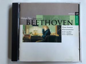 Melvyn Tan, fortepiano / Beethoven – Piano Sonatas - Klaviersonaten No. 26 Les adieux, No. 21 Waldstein, No. 23 Appassionata / Virgin Veritas Audio CD 1994 / VER 5 61160 2