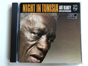 Night In Tunisia - Art Blakey & The Jazz Messengers / Philips Audio CD 1979 / 800 064-2