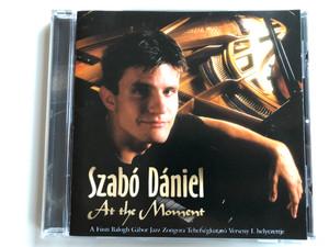 Szabó Dániel – At The Moment / A Fusti Balogh Gabor Jazz Zongora Tehetsegkutato Verseny I. helyezettje / Magneoton Audio CD 1998 / 3984-25119-2