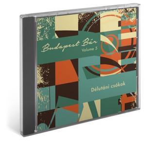 Budapest Bár: Volume 5 Délutáni Csókok / Audio CD 2014 / Budapest Bár zenekar, Bangó Margit, Iván Szandra, Tania Saedi, (5999885177431)
