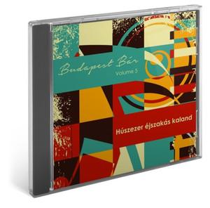 Budapest Bár Volume 5: Húszezer éjszakás kaland / Audio CD 2014 / Budapest Bár zenekar, Szűcs Krisztián, Behumi Dóri, Ferenczi György, Keleti András, Mező Misi (5999885177349)