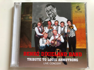 Benko Dixieland Band - Tribute To Louis Armstrong / Live Concert / Gong Audio CD 1997 / HCD 37880