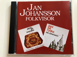 Jan Johansson ‎– Folkvisor / Jazz pa svenska / Jazz pa ryska / Heptagon Records ‎Audio CD 1995 Stereo / HECD-000