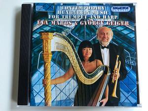 Contemporary Hungarian Music for Trumpet And Harp / Éva Maros & György Geiger / Hungaroton Classic Audio CD 1995,1997 Stereo / HCD 31734