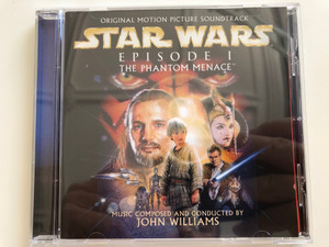 Original Motion Picture Soundtrack / Star Wars - Episode I: The Phantom Menace / Music Composed And Conducted By John Williams / Sony Classical Audio CD 1999 / SK 61816