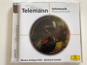 Georg Philipp Telemann - Tafelmusik, Wassermusik / Musica Antiqua Köln, Reinhard Goebel / Deutsche Grammophon Audio CD / 463 268-2