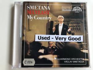 Smetana – Má Vlast = My Country / Czech Philharmonic Orchestra, Václav Smetáček / Supraphon Audio CD 1989 Stereo / 11 0082-2 031